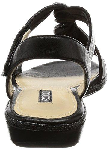 ECCO - Ecco Bouillon Sandal 3.0, Sandali Donna Schwarz (1001BLACK)