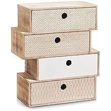 Petit meuble tiroir bois for Petit caisson a tiroir