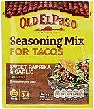 Old El Paso Garlic & Paprika Taco Seasoning Mix 25g (Pack of 24)