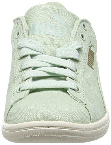 Puma Vikky Canvas, Scarpe da Basket Donna Verde (Green (Green Lily/Green Lily))