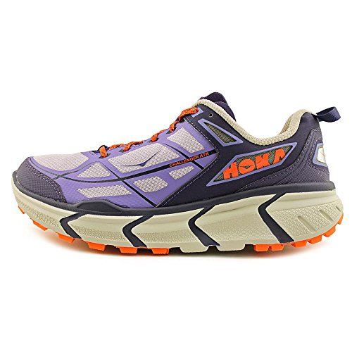 Hoka One One W Challenger ATR Synthétique Chaussure de Course Astral Aura-Flame