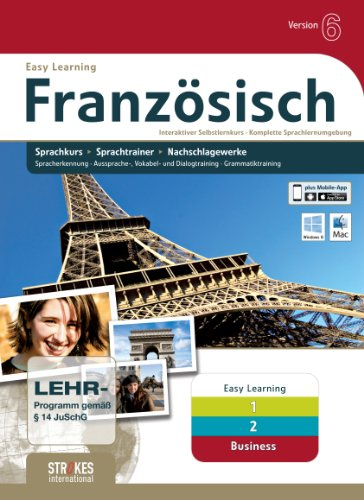 Strokes Easy Learning Französisch 1+2+Business Version 6.0