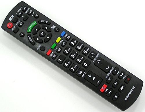 Ersatz Fernbedienung für Panasonic N2QAYB000752 Fernseher TV Remote Control / Neu Tv Ersatz Fernbedienung