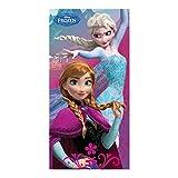 Frozen Elsa & Anna, Badetuch oder Strandtuch 70 x 140 cm
