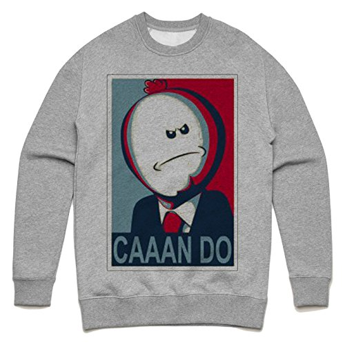 Meeseeks can do Unisex Sweater Grau
