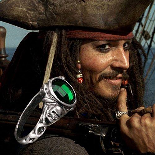 Bague cristal Emeraude Pirate des Caraïbes (9)