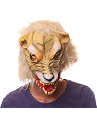 DUUMY Máscara de Víspera De Todos Los Santos Máscara de Animales Máscara de Cabeza de Baotou