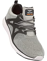 ATHLEISURE Men's Grey Synthetic Shoes (203226108) - 8 UK