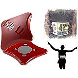 RACEBIBUP Starke Sport Magnet Radfahren Laufen Nummer beheben Magnetische Startnummernhalter