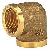 GARDENA Messing-Winkel mit Innengewinde: Winkelstück mit 33.3 mm (G 1
