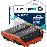 LCL(TM) 26XL T2621 (2-Pack Negro) Cartuchos de Tinta Compatible para Epson ExpressionPremium XP-510/520/600/605/610/615/620/625/700/710/720/800/810/820