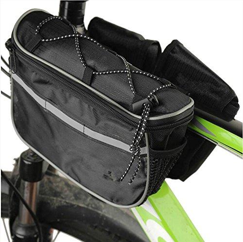 XY&GKFahrradtasche vorderen Trägers Mountainbike vorderen Tasche wasserdichte Querträger Satteltasche, machen Ihre Reise angenehmer D