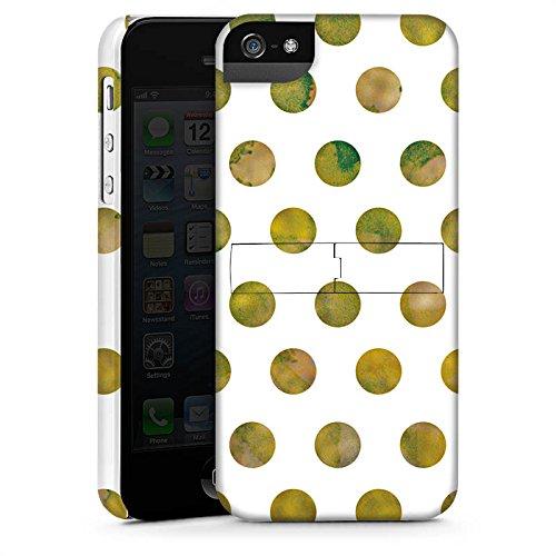 Apple iPhone X Silikon Hülle Case Schutzhülle Muster Punkte Frühling Premium Case StandUp