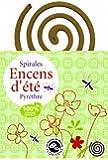 Spirales Encens d''été anti-moustique jardin