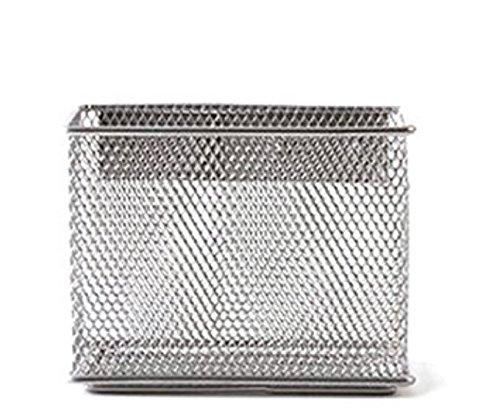 Tutoy Wire Mesh Magnetic Storage Korb Tablett Metalltisch Speicher Organizer Für Kühlschrank Whiteboard - M (Wire Korb)