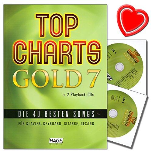 Top Charts Gold 7 - 40 besten Songs für Klavier, Keyboard, Gitarre und Gesang - Sammlung der besten...