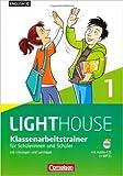 English G LIGHTHOUSE - Allgemeine Ausgabe: Band 1: 5. Schuljahr - Klassenarbeitstrainer mit Lösungen und Audio-CD: Audio-Dateien auch als MP3 (Englisch) ( Juli 2012 )