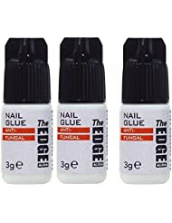 The Edge 3 G Super Forte Adhésif Faux Ongles – LOT DE 3