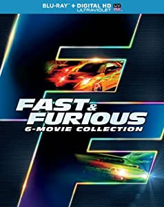 Fast & Furious 6-Movie Collection [Blu-ray] [US Import]