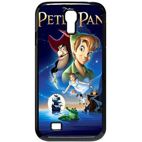Durable Rubber Cases Samsung Galaxy S4 I9500 Black Cell phone Case Lslaz Peter Pan Protection Cover