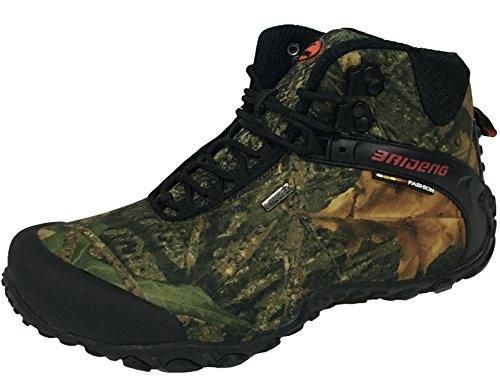 MatchLife Herren Camouflage Wanderschuhe Sports Schuhe Style1 Khaki Gelb