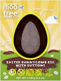 Moo Free Easter Bunnycomb Egg with Buttons, 120 g