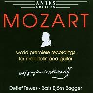 Wolfgang Amadeus Mozart: Musik fuer Mandoline und Gitarre