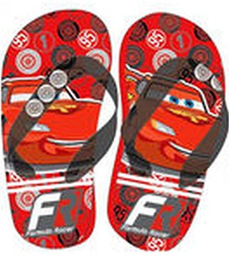 Disney Pixar Cars Flip Flops Rot