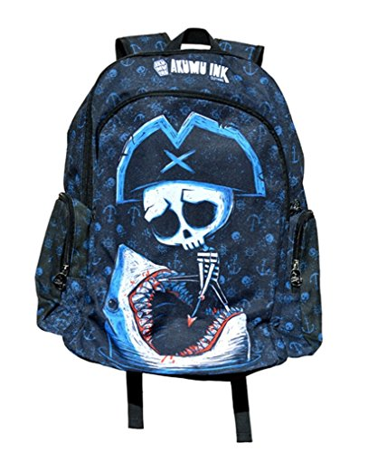 Banned Battle to Death Rucksack Backpack Tasche Bag Comic Gothic Schwarz