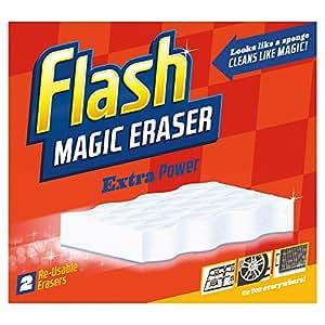 flash magic eraser extra power household cleaner pack. Black Bedroom Furniture Sets. Home Design Ideas