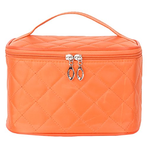 UberLyfe Cosmetic Bag cum Travel Organizer - Perfect for Weddings- Orange (1152-OR)