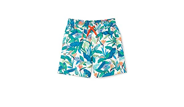Toddler//Little Kids//Big Kids Hatley Kids Boys Tropical Paradise Swim Trunks