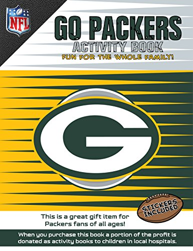 Go Packers Activity Book: Volume 1 (Sports Team Activity Books)