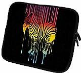 """#DoYourMobile© 6Zoll Tasche/Schutzhülle für eBook-Reader/eReader - wasserdichtes Neopren mit Reißverschluss in der Größe 18,5 x B 14cm/für Tablets mit Bildschirmgröße ca. 6,5-7,2""""/Design : 105"""