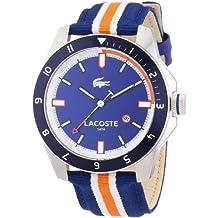 Lacoste 2010700 Durban - Reloj analógico de pulsera para hombre, correa de nailon