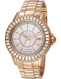 Esprit Collection Damen-Armbanduhr Eurybia Analog Quarz Edelstahl EL102082F05