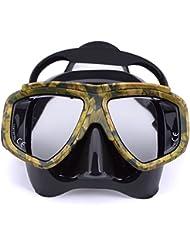 Nuevo profesional de buceo máscara de buceo anti niebla para pesca submarina Gear natación máscaras