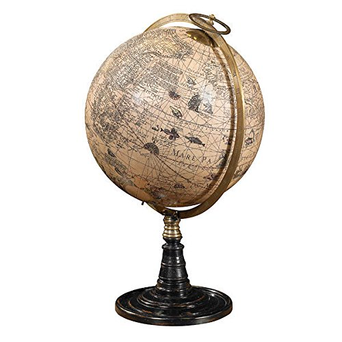 Old World Globe Stand (Globe World Old)