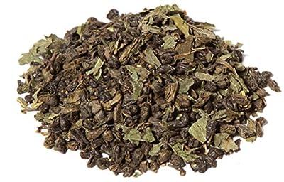Thé Vert Menthe Marrakech en Vrac Sachet 100 gr – Délicieux Thé Vert de Chine Aromatisée à la Menthe Marrocaine et Arôme Naturel