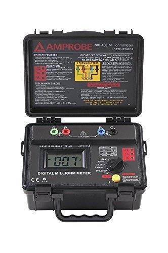 Amprobe MO-100 Milliohm Meter by Amprobe Milliohm-meter
