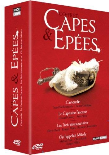 Capes & épées - Coffret - Cartouche + Capitaine Fracasse + Les 3 mousquetaires + On l'appelait Milady