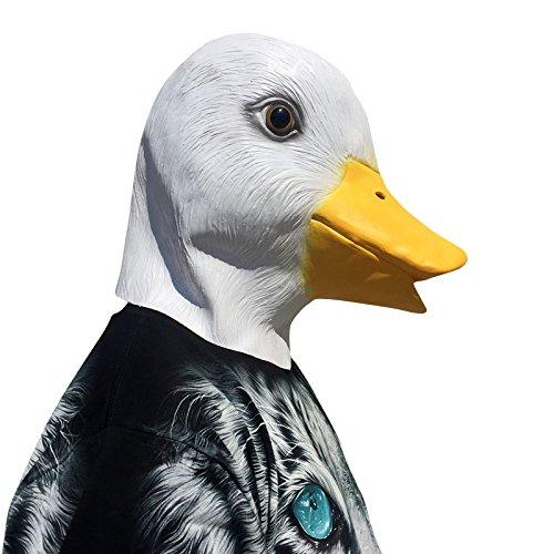 thematys Ente mit Schnabel Maske - perfekt für -