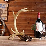 Weinregal Nordic Harz Handwerk kreative handgemachte Hause Geweih dekorative Ornamente Wine Rack