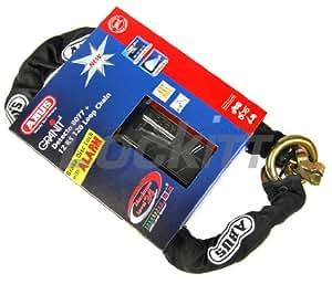 8077 12KS120 - Abus Granit Detecto 8077 Loop Chain & Lock 120cm / 12mm