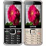 G'Five G9 Dual Sim Mobile Phone Combo (Black And Rose Gold)