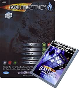 Doctor Who - Single Card : Ultimate Monsters 014 (614) Exxilon Antibody Dr Who Battles in Time Rare Card