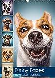 Funny Faces - Lustige Hundebilder (Wandkalender 2020 DIN A3 hoch) - Manuela und Stefan Kulpa