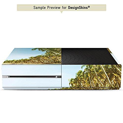 microsoft-xbox-case-skin-sticker-vinyl-decal-sticker-palm-trees-and-beach