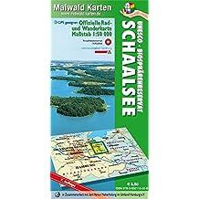 Schaalsee = Offizielle Rad- u. Wanderkarte Schaalsee - UNESCO - Biosphärenreservat Schaalsee - Rückseite mit interessanten touristischen ... - Maßstab 1:50.000 - GPS geeignet)