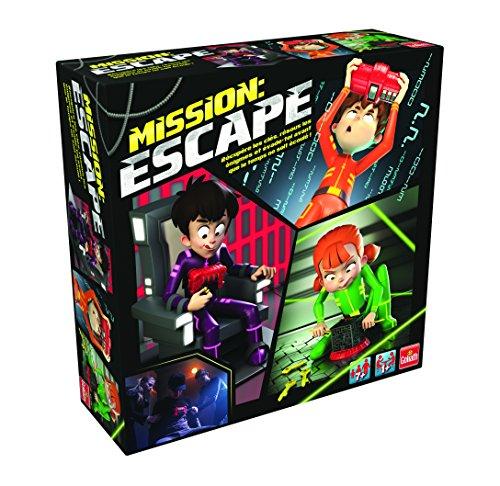 Goliath 30211 - Mission Escape Spiel, unendlich oft spielbar, viele spannende Rätsel, ab 6 Jahren